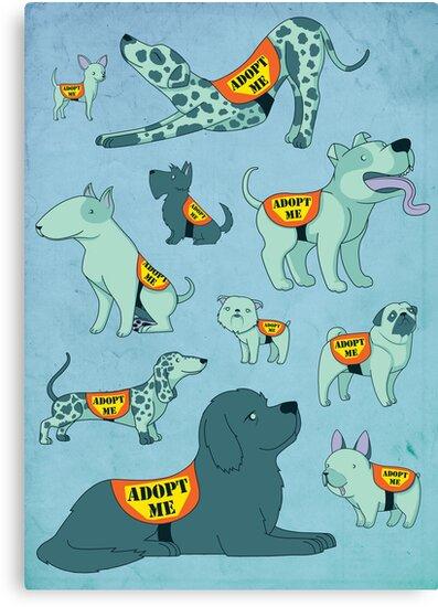 Adopt a Dog by JessieSima