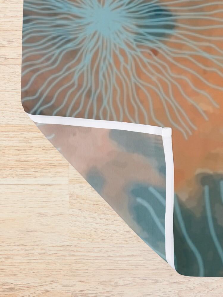 Alternative Ansicht von bunte Unterwasserwelt Duschvorhang