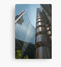 Financial District - London Metal Print
