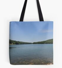 Tranquil Moment at Leesville Lake Tote Bag