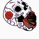 Rose Skull by Aengel