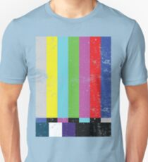 TV test Lines  Unisex T-Shirt
