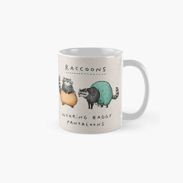 Raccoons Wearing Baggy Pantaloons Classic Mug