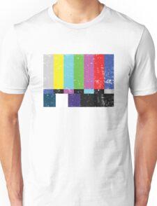 TV test Lines (Half t-shirt 02) Unisex T-Shirt