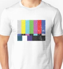 TV test Lines (Half t-shirt 02) T-Shirt