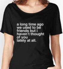 A long time ago - A Veronica Mars T-shirt Women's Relaxed Fit T-Shirt