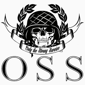 OSS Warrior by ossclothingco