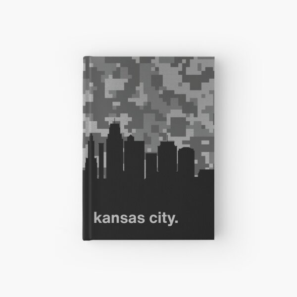 My heart beats for United States of America, Kansas City  Hardcover Journal