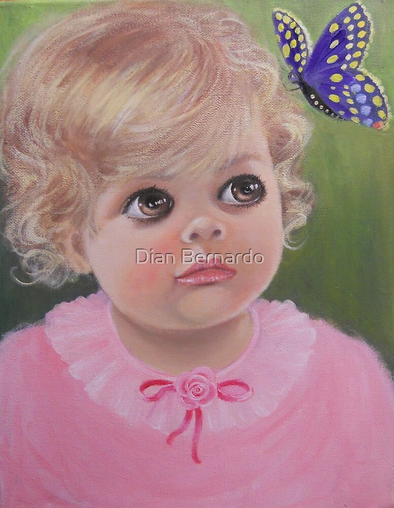 THE  BABY AND THE BUTTERFLY by Dian Bernardo