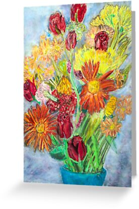 still life of flowers by Brian Douglas