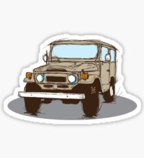 FJ 40 Sticker