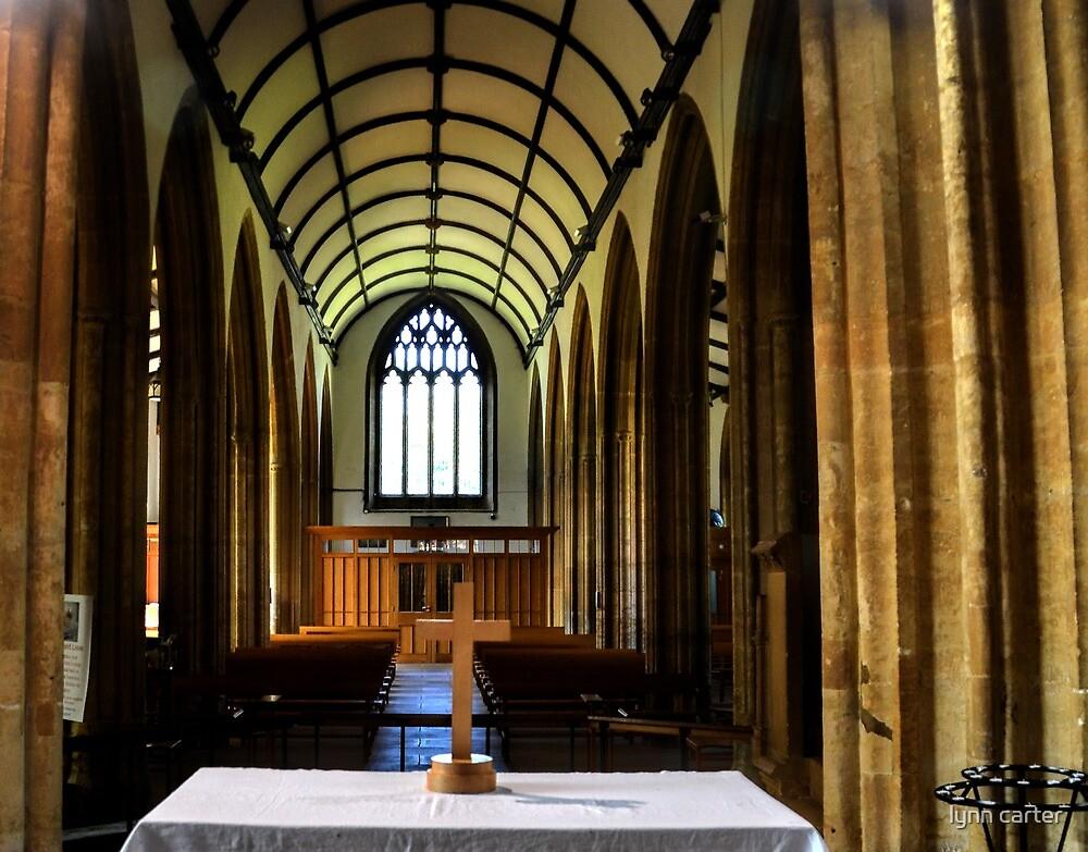 St Mary's Church, Bridport. Dorset  UK by lynn carter