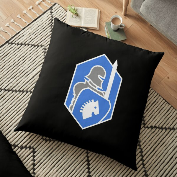 Blue Team Floor Pillow