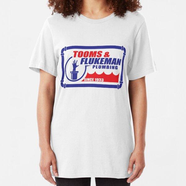 Tooms and Flukeman Plumbing Slim Fit T-Shirt