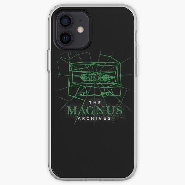 [Transparent] The Magnus Archives Logo (Season 5)  iPhone Soft Case