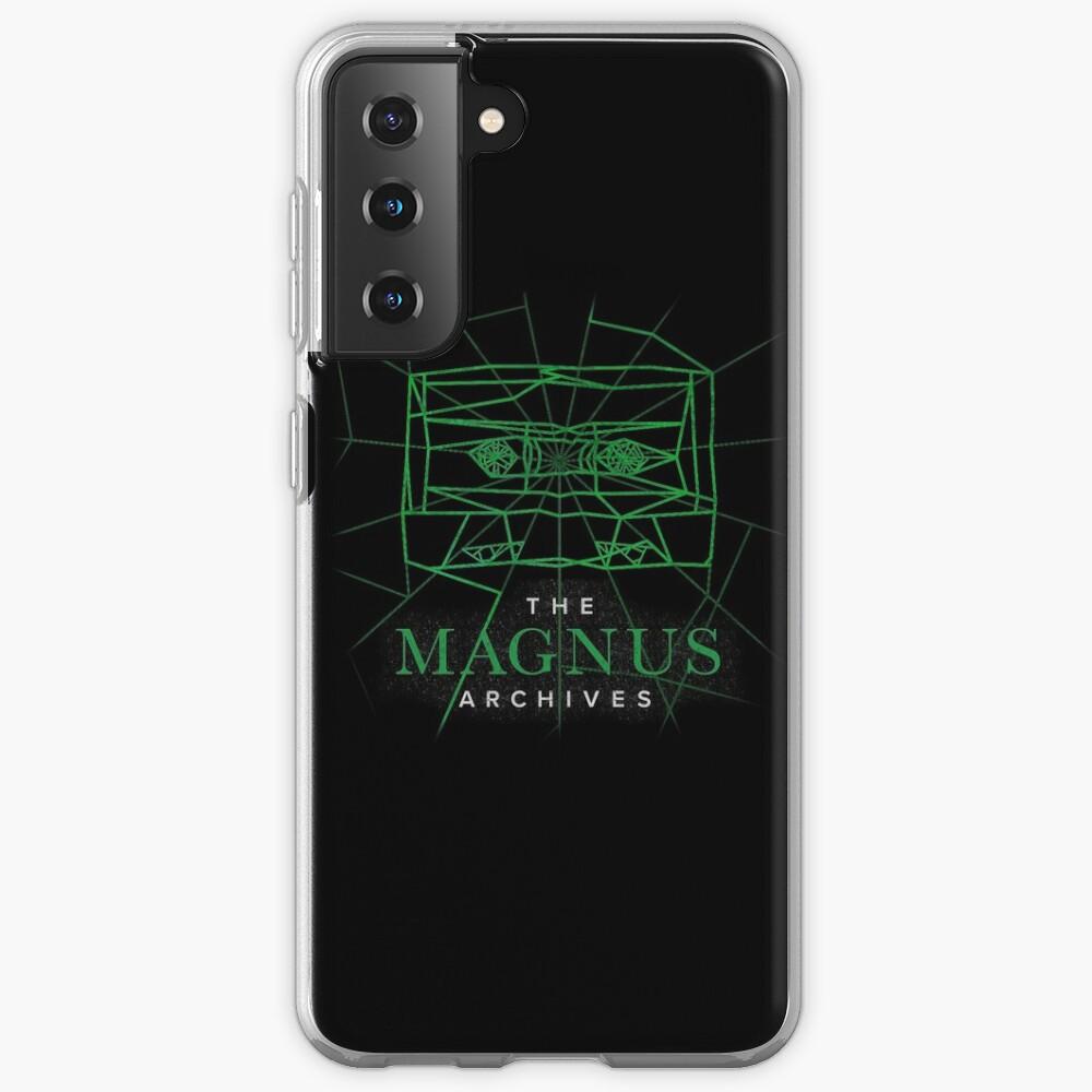 [Transparent] The Magnus Archives Logo (Season 5)  Case & Skin for Samsung Galaxy
