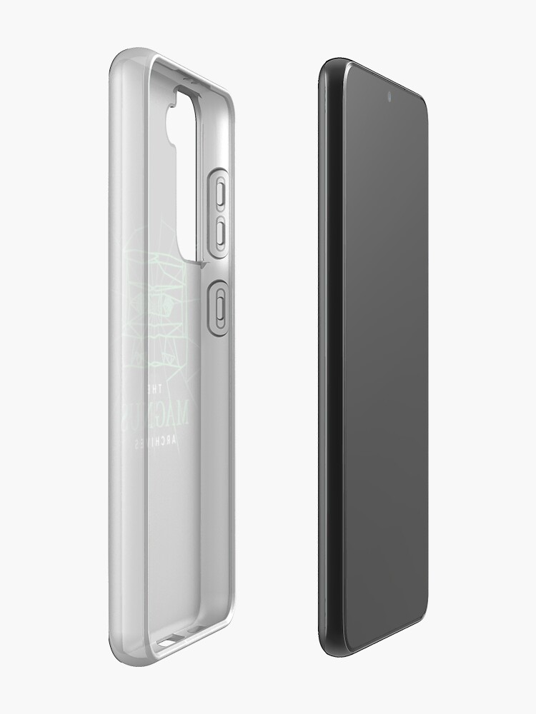 Alternate view of [Transparent] The Magnus Archives Logo (Season 5)  Case & Skin for Samsung Galaxy