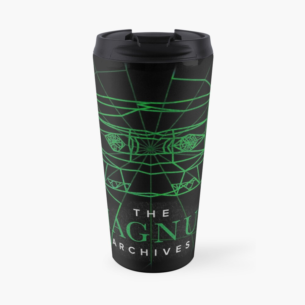 [Transparent] The Magnus Archives Logo (Season 5)  Travel Mug