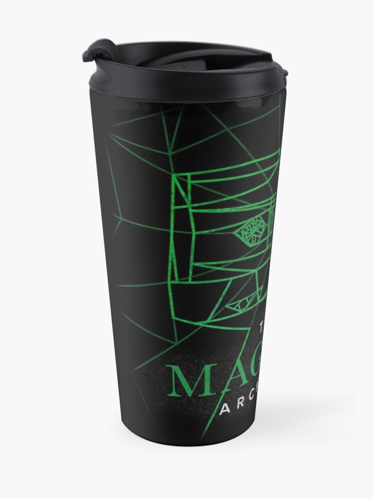 Alternate view of [Transparent] The Magnus Archives Logo (Season 5)  Travel Mug