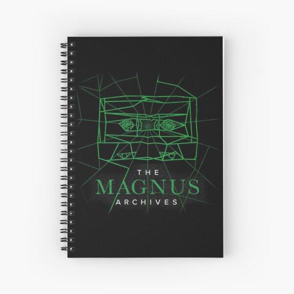 [Transparent] The Magnus Archives Logo (Season 5)  Spiral Notebook