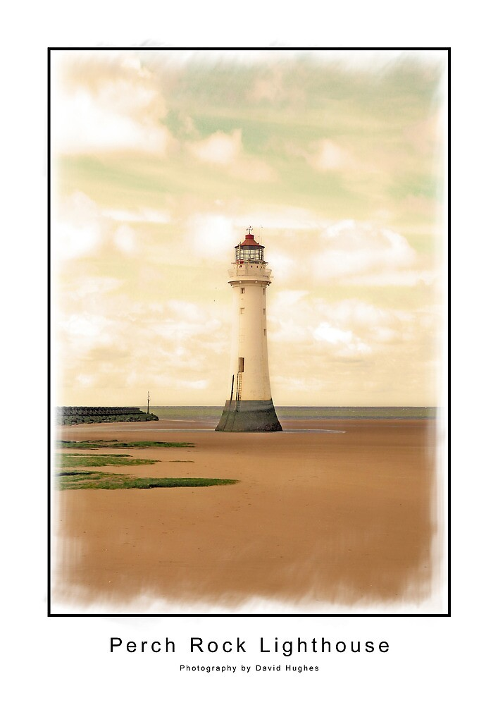 Perch Rock Lighthouse by DavidWHughes
