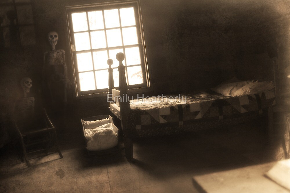 """""""Creepy Abandoned Haunted Cabin Bedroom"""" by Emily ..."""