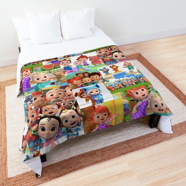 Cocomelon Collage Artwork Comforter