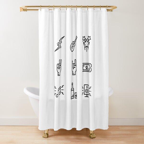 Rockers Shower Curtain