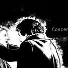 Concentrate, John! by Alessia Pelonzi