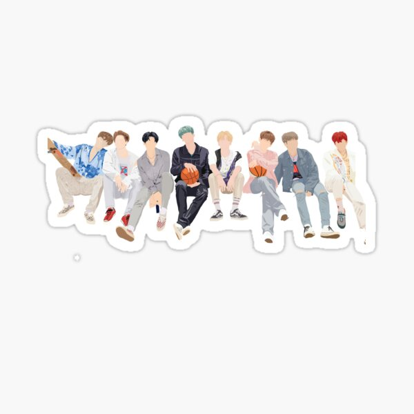 ATEEZ Wave Sticker