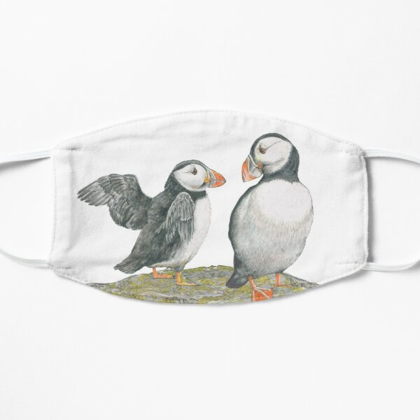 Puffins by Mary Fleeson Mask