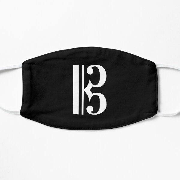 Modern Alto Clef Flat Mask