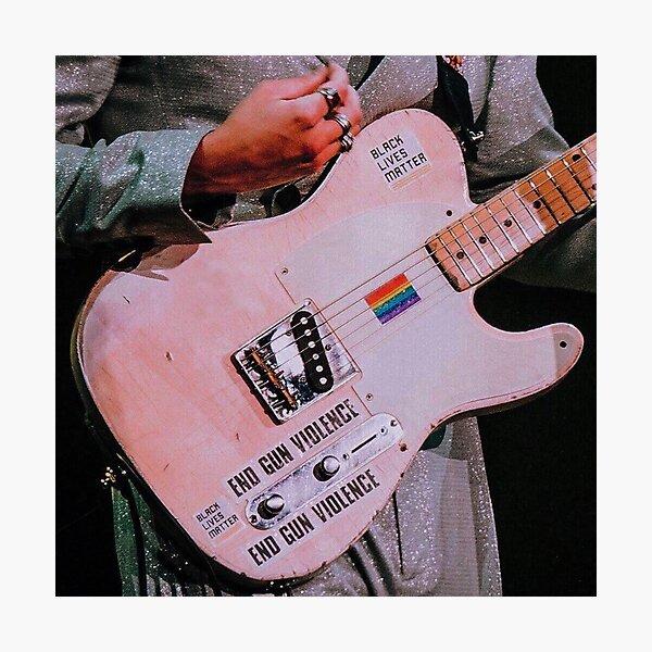 Harry styles guitar Photographic Print