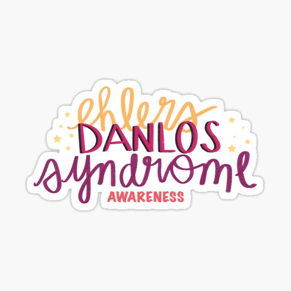 Ehlers-Danlos Syndrome awareness Sticker