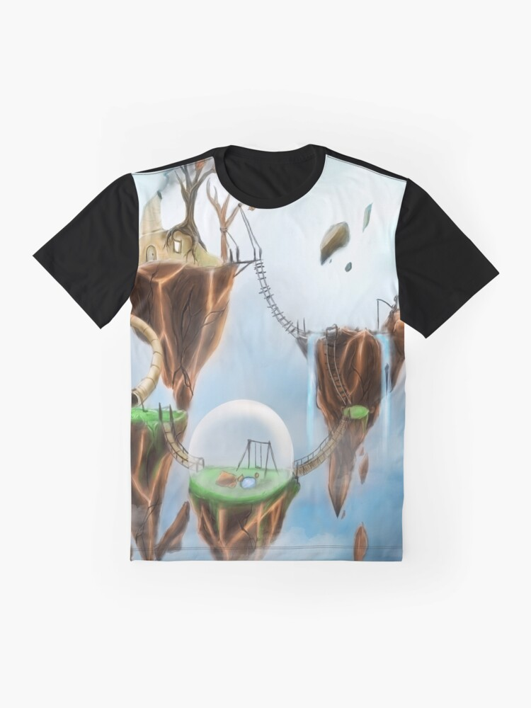 Alternate view of Sky Home Graphic T-Shirt