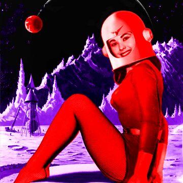 Space Babe de sashakeen