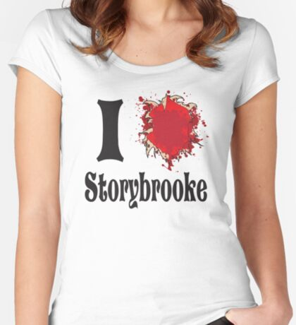 That show that you love where everyone keeps getting their hearts ripped out. Women's Fitted Scoop T-Shirt