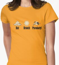 Airplane! origami Womens Fitted T-Shirt