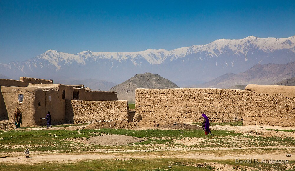 Shomali Village by David R. Anderson