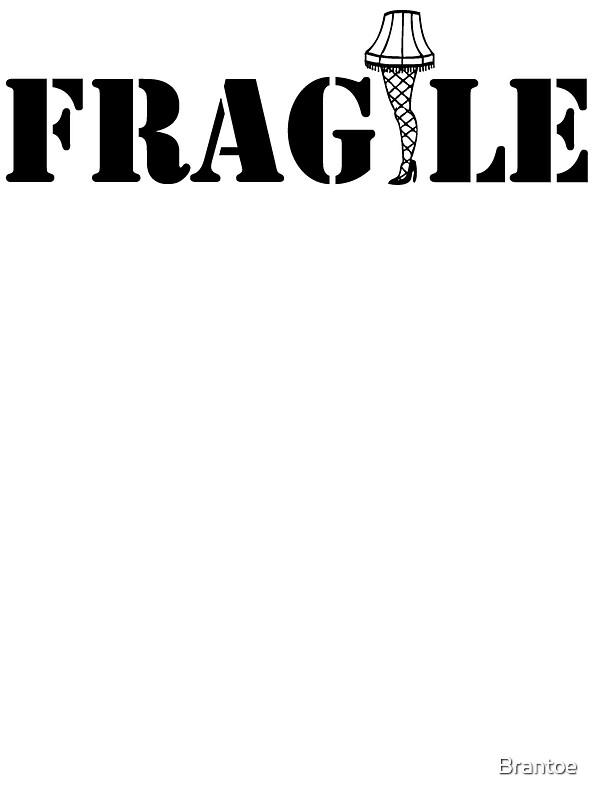 """""""Christmas story, Fragile"""" Stickers by Brantoe 