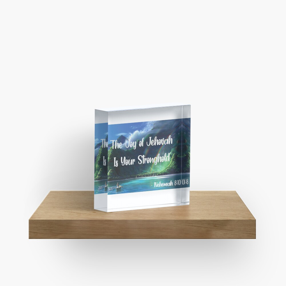 The Joy of Jehovah Acrylic Block