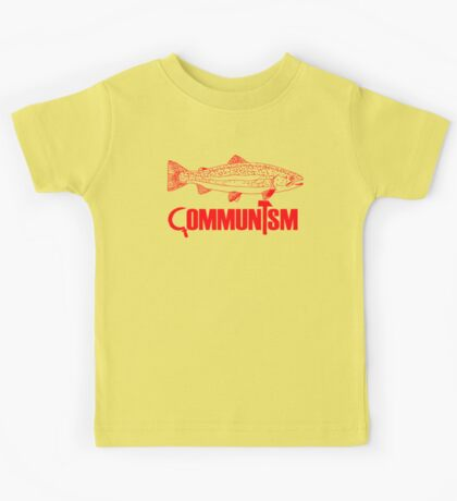 """Movie Clue """"Communism was just a red herring"""" Kids Clothes"""