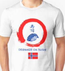Dreaming of Sushi - Norway 2 Unisex T-Shirt