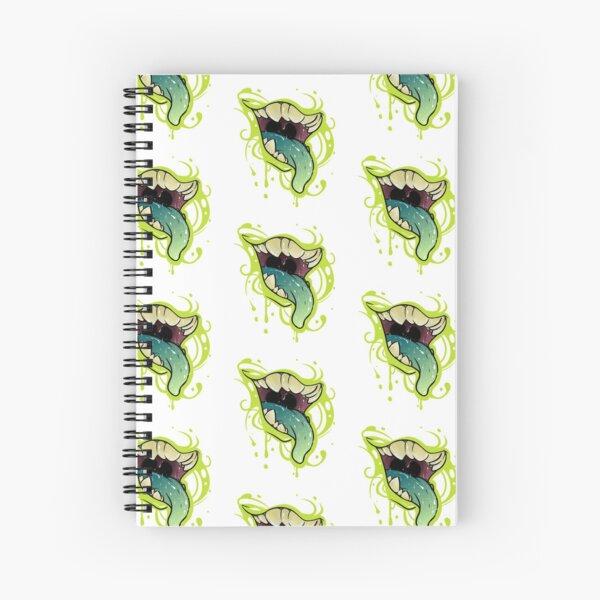 Glitter Chops Spiral Notebook