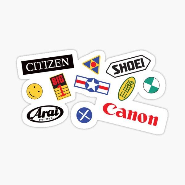 Akira Bike Decals Sticker