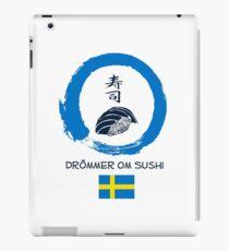 Dreaming of Sushi - Sweden 2 iPad Case/Skin
