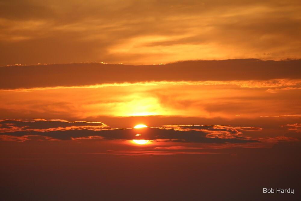 Erie Sunset by Bob Hardy