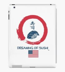 Dreaming of Sushi - USA 2 iPad Case/Skin