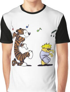 Calvin And Hobbes Fun Graphic T-Shirt