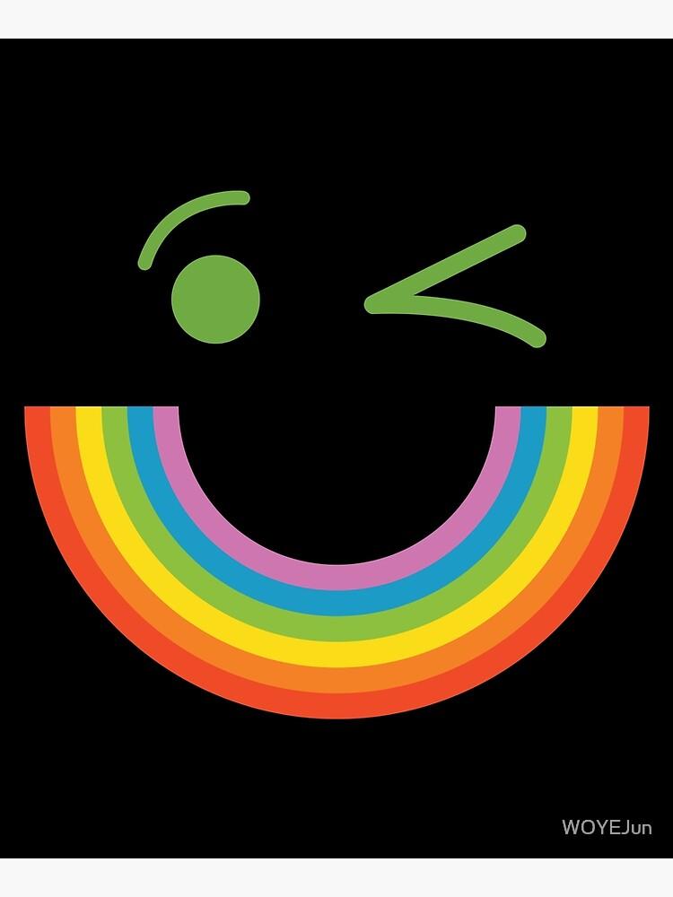 Smile Rainbow  by WOYEJun